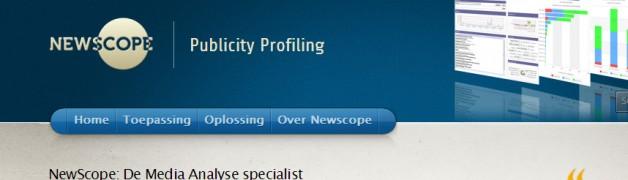 NewScope – Media analyse